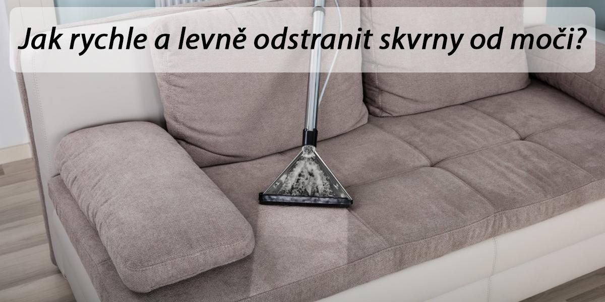 Jak vyčistit koberec či matraci od moči
