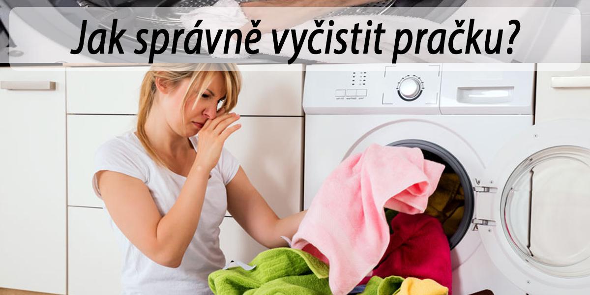 Jak vyčistit pračku od zápachu