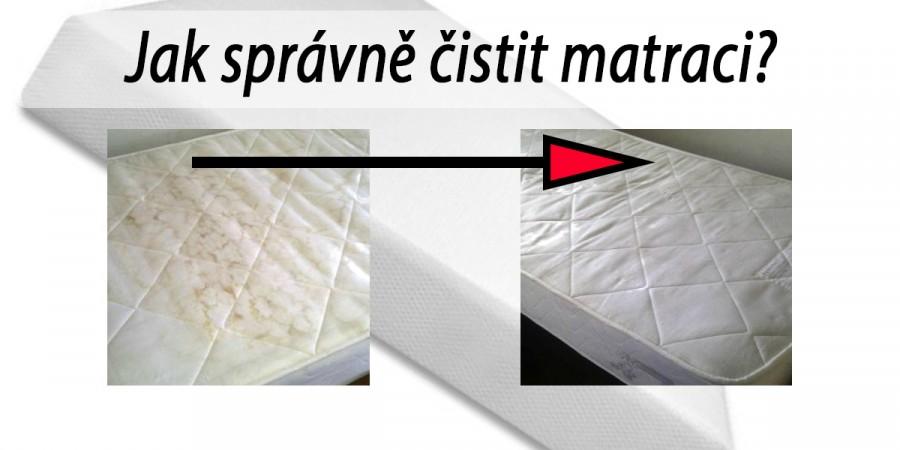 Jak vyčistit matraci