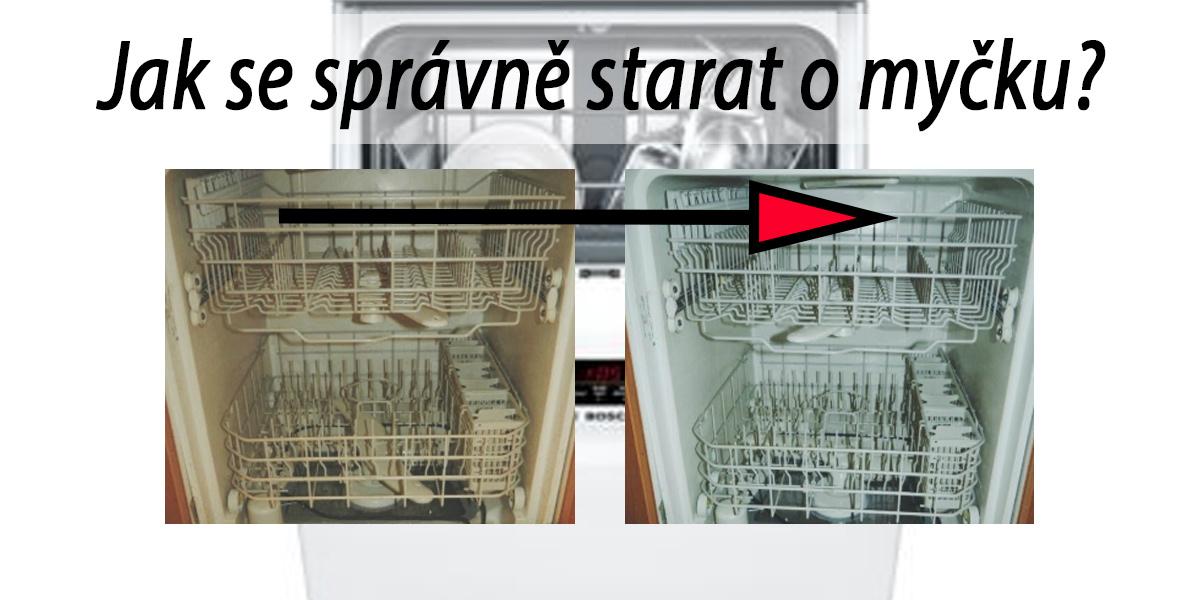 Jak nejlépe vyčistit myčku na nádobí