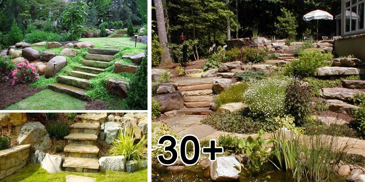 Okrasná zahrada ve svahu - fotogalerie, inspirace