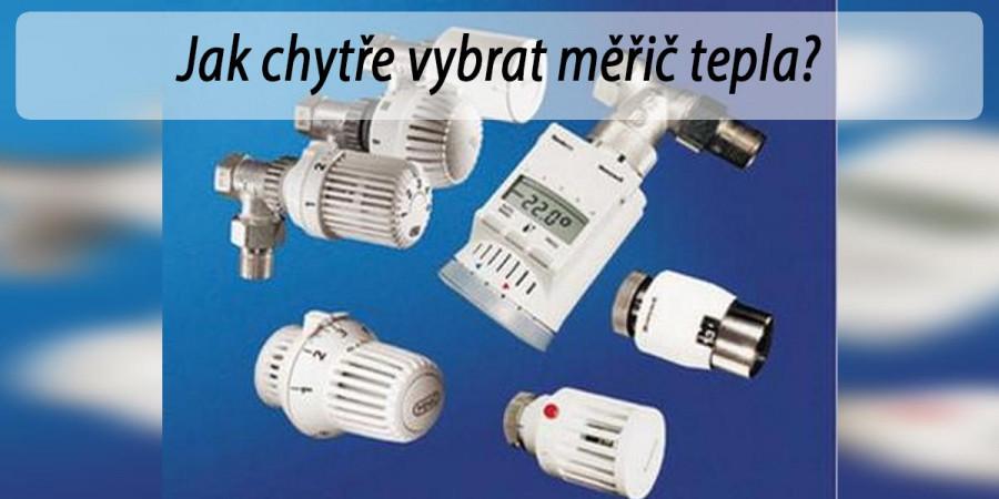 Jaký vybrat měřič tepla pro sdružení, domácnosti nebo komerční budovy?
