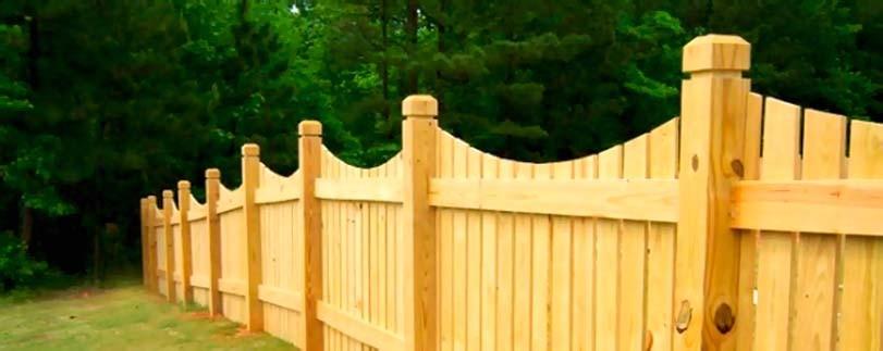 Smrkové dřevo pro velký plot
