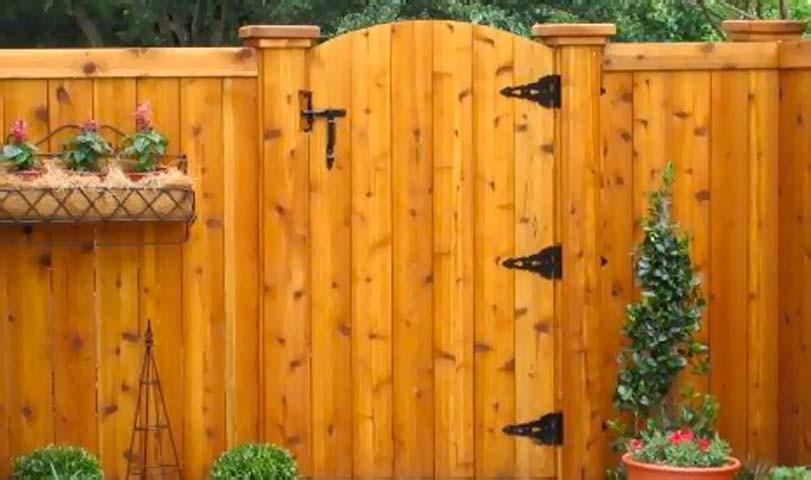 Vchoddová dřevěná branka, inspirace