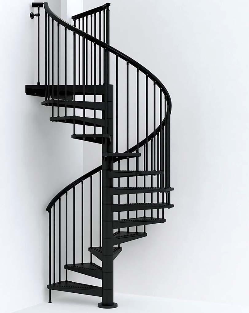 ČERNÉ schody s bílým pozadím