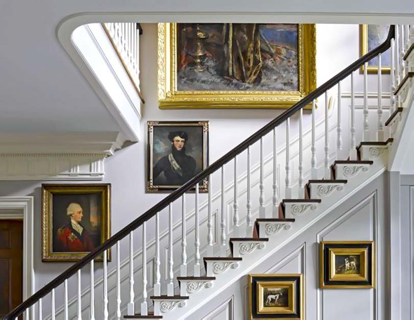 Historický styl schodů