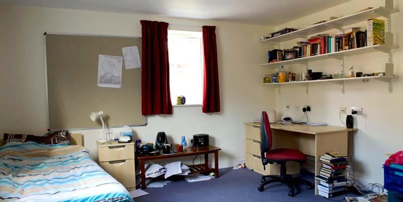 Studentský pokoj, velký