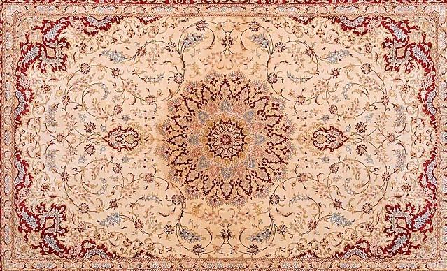 Perský koberec, inspirace1