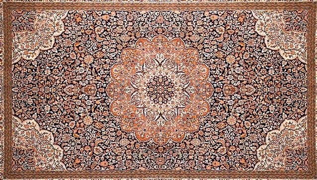 Perský koberec, inspirace4